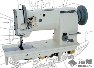HIGHLEAD GC20618-1 Walking Foot Industrial Sewing Machine