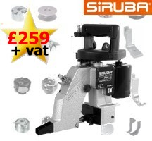 click HERE To See The SIRUBA AA-6 Bagstitcher