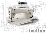 BROTHER S-7200A Parts